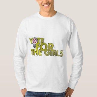 Vote for the Girls Men's Long Sleeve T-Shirt