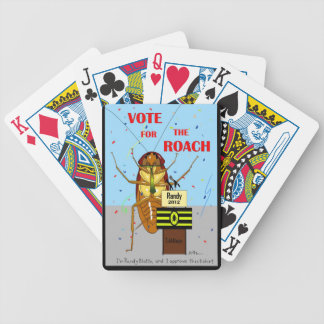 Vote for the Roach Bicycle Playing Cards