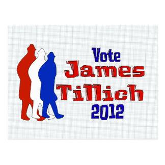 Vote For Tillich Postcard