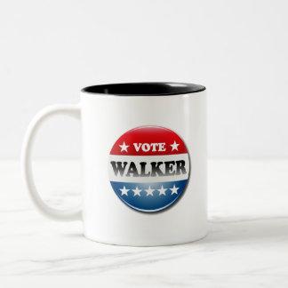 Vote for Walker 2016 Two-Tone Coffee Mug