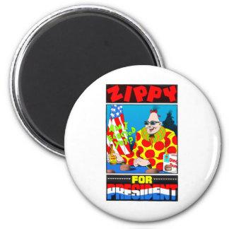 Vote For Zippy 2 Inch Round Magnet