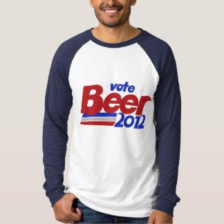 Vote fot Beer 2012 Political parody T-Shirt