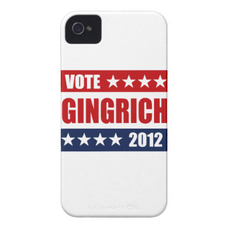 VOTE GINGRICH 2012 - BLACKBERRY BOLD COVER