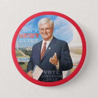 Vote Gingrich 2012 Pinback Button