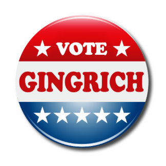 VOTE GINGRICH PHOTO CUT OUTS