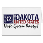 Vote Green Party in 2010 – Vintage North Dakota Greeting Cards