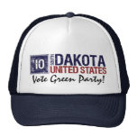 Vote Green Party in 2010 – Vintage South Dakota Trucker Hat
