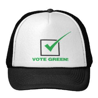 Vote Green Trucker Hat