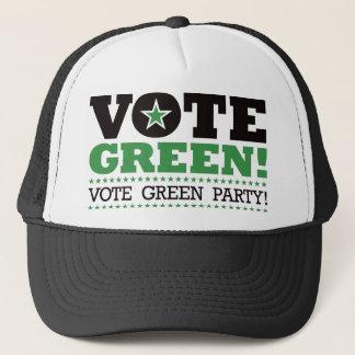 Vote Green! Vote Green Party! Trucker Hat