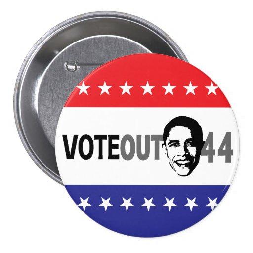 Vote hacia fuera 44 - Obama Pins