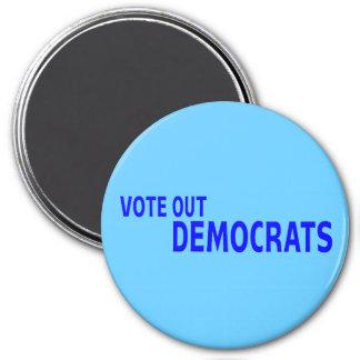 Vote hacia fuera a Demócratas Imán De Frigorifico