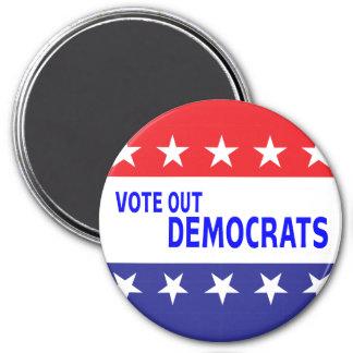 Vote hacia fuera a Demócratas Imanes