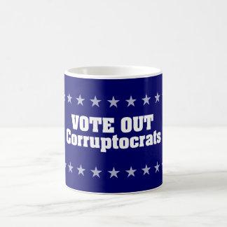 Vote hacia fuera Corruptocrats Taza Clásica