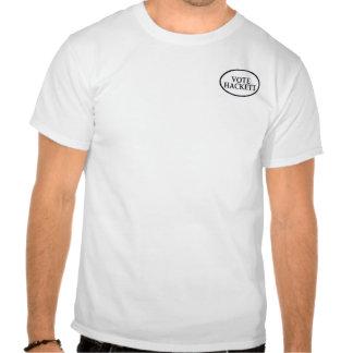 Vote Hackett 2 Sided Shirt