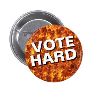 Vote Hard Explosion Button
