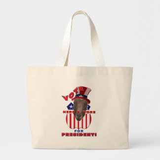 VOTE HERB A VORE FOR PRESIDENT! GOAT TOTE BAG