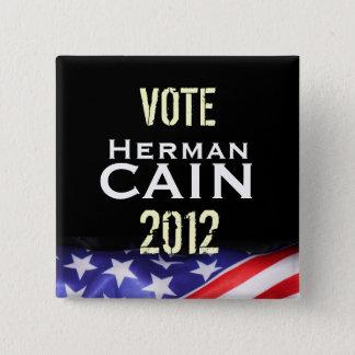 Vote Herman CAIN 2012 Campaign Button