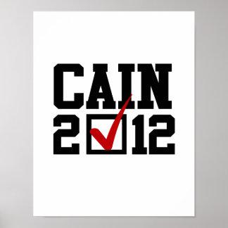 VOTE HERMAN CAIN 2012 PRINT