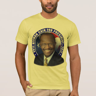 Vote Herman Cain 2012 T-Shirt