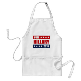 VOTE HILLARY 2016 ADULT APRON