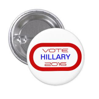 VOTE HILLARY 2016 BUTTON