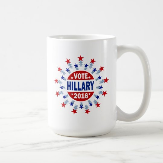 Vote Hillary 2016 Coffee Mug