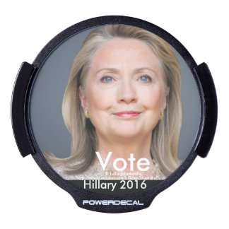 Vote HILLARY 2016 LED Car Decal