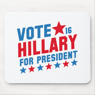 Vote Hillary 2016 Mouse Pad