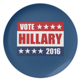 VOTE HILLARY 2016 PLATE