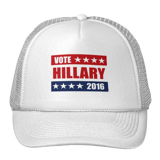 VOTE HILLARY 2016.png Mesh Hat