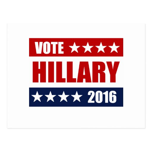 VOTE HILLARY 2016.png Postcard