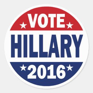 Vote Hillary 2016 Sticker