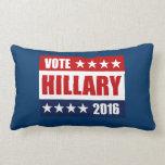 VOTE HILLARY 2016 THROW PILLOW