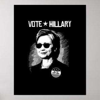 Vote Hillary - Bill for First Laddie -- Poster