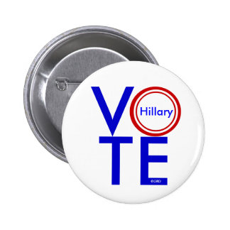 VOTE HILLARY Buttons by GrassrootsDesigns4u