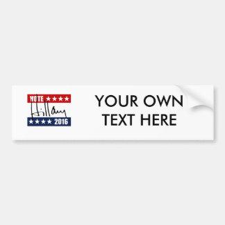 VOTE HILLARY CLINTON 2016 BUMPER STICKERS