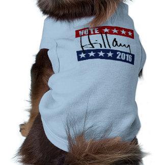 VOTE HILLARY CLINTON 2016 DOGGIE TSHIRT