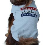 VOTE HILLARY CLINTON 2016 DOGGIE TEE