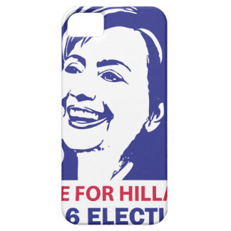vote hillary clinton 2016 iPhone SE/5/5s case