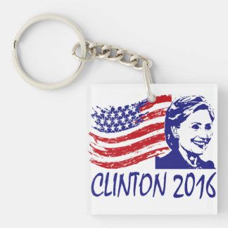 Vote!  Hillary Clinton 2016 keychain