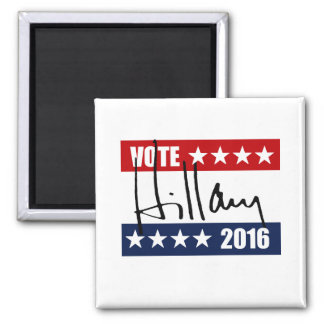 VOTE HILLARY CLINTON 2016 REFRIGERATOR MAGNET