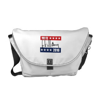 VOTE HILLARY CLINTON 2016 COURIER BAG