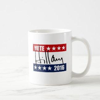 VOTE HILLARY CLINTON 2016.png Coffee Mug
