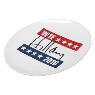 VOTE HILLARY CLINTON 2016 png Plates