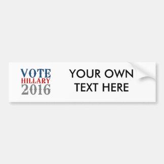 VOTE HILLARY CLINTON 2016 VINTAGE BUMPER STICKERS