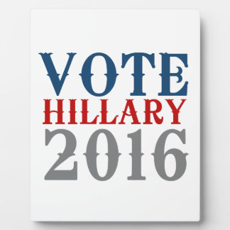 VOTE HILLARY CLINTON 2016 VINTAGE.png Display Plaques
