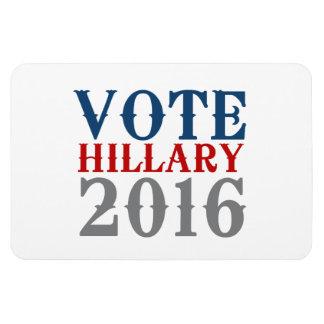 VOTE HILLARY CLINTON 2016 VINTAGE RECTANGULAR MAGNET