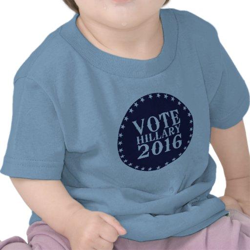 VOTE HILLARY CLINTON 2016 VINTAGE T-SHIRT