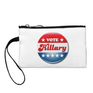 VOTE HILLARY CLINTON COIN PURSES