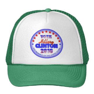 Vote Hillary Clinton First Female President 2016 Trucker Hat